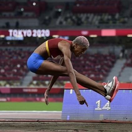Frontera Digital,  YULIMAR ROJAS, Deportes,  Yulimar Rojas clasificó a la final olímpica  con el mejor registro del salto triple