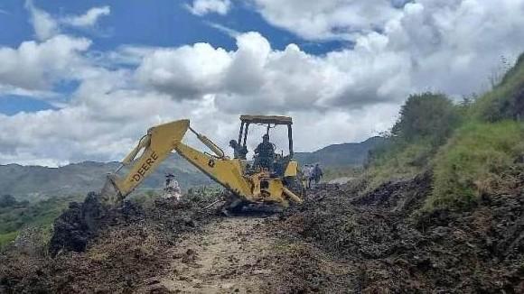 https://www.fronteradigital.com.ve/Jehyson Guzmán articula restitución del paso vial en la aldea Palo Negro