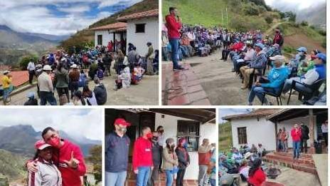 """https://www.fronteradigital.com.ve/""""Gracias a los habitantes de Los Nevados  pues juntos vamos a protagonizar el cambio"""""""