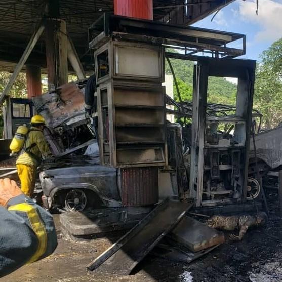 Diario Frontera, Frontera Digital,  EXPLOSIÒN EN AZOÁTEGUI, Sucesos, ,Anzoátegui | Un muerto y ocho heridos  deja explosión en estación de gasolina de Barcelona