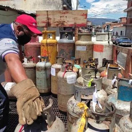 Diario Frontera, Frontera Digital,  NEVADO GAS, Regionales, ,Familias merideñas continúan siendo beneficiadas  con el servicio de gas doméstico