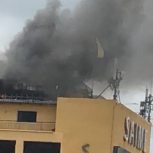 Diario Frontera, Frontera Digital,  SAIME INCENDIO, Nacionales, ,Reportan incendio en sede principal de Saime