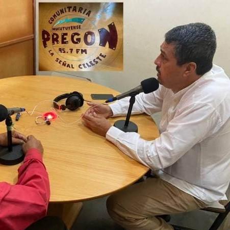 Frontera Digital,  MUCUTUY, RAMÓN LOBO, Regionales,  RADIO PREGÓN 95.7 FM TRANSMITIÓ PROPUESTAS DE RAMÓN LOBO