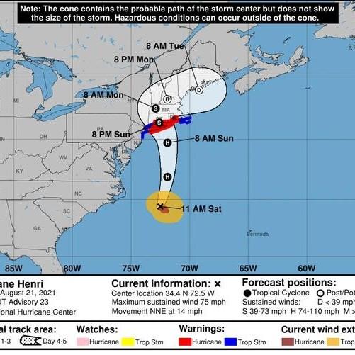 Diario Frontera, Frontera Digital,  TORMENTA HENRI, Internacionales, ,Tormenta Henri deja a su paso inundaciones,  miles sin luz y vuelos cancelados en EE.UU.