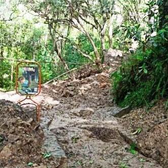 Diario Frontera, Frontera Digital,  LLUVIAS EN CHORROS DE MILLA, Sucesos, ,Lluvias obstaculizan paso hacia las cascadas del zoológico Chorros de Milla