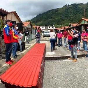 Diario Frontera, Frontera Digital,  MUNICIPIO SANTOS MARQUINA, Páramo, ,Gobierno Revolucionario reivindicó a 36 familias con el Plan de Sustitución de Techos