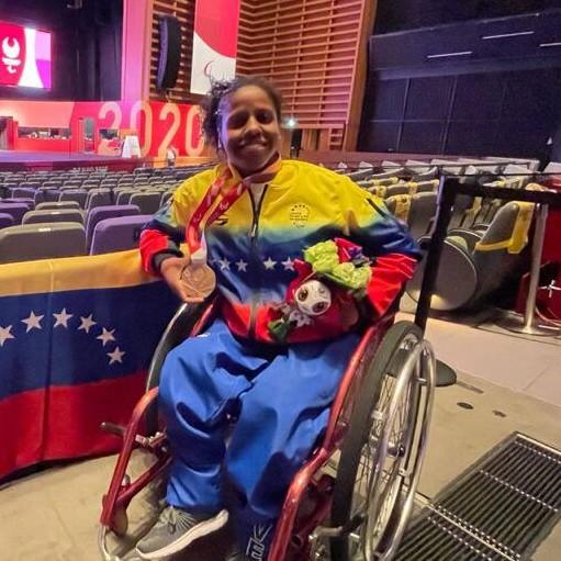 Diario Frontera, Frontera Digital,  CLARA FUENTES, Deportes, ,Paralímpicos: la pesista Clara Fuentes  ganó la primera medalla de Venezuela