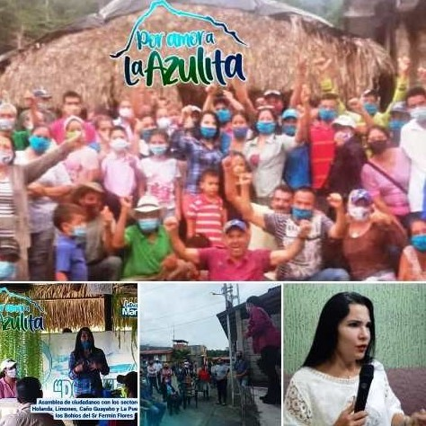 Diario Frontera, Frontera Digital,  LA AZULITA, Panamericana, ,MARÍA ELENA VILLASMIL ENTREGARÁ INSUMOS  A FAMILIAS DE TOVAR Y ANTONIO PINTO SALINAS