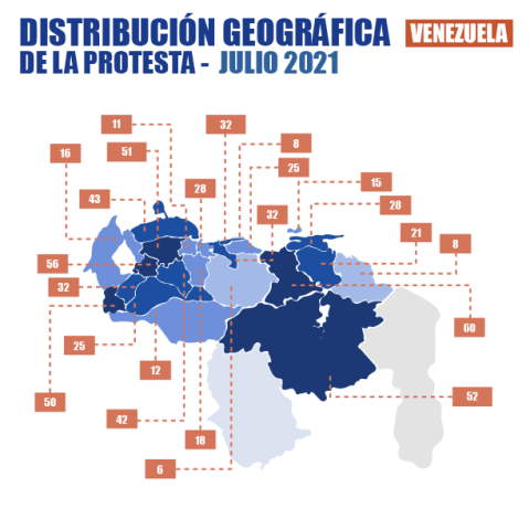 Diario Frontera, Frontera Digital,  Observatorio Venezolano de Conflictividad Social, Nacionales, ,Observatorio de conflictividad  registra 671 protestas en el país en julio