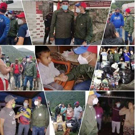 """Diario Frontera, Frontera Digital,  JESÚS ARAQUE, PSUV, GPP, Mocoties, ,""""Seguimos acompañando la gestión del Gobierno Bolivariano  en el Valle del Mocotíes y zonas afectadas"""""""