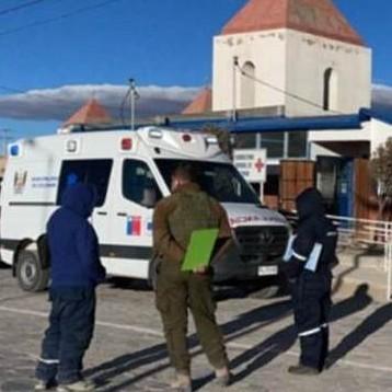 Diario Frontera, Frontera Digital,  BOLIVIA, Internacionales, ,Camioneta con migrantes venezolanos  se volcó en la frontera entre Bolivia y Chile