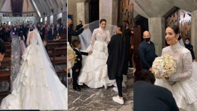 https://www.fronteradigital.com.ve/El momento más emocionante  en la boda de Daniela Alvarado y José Manuel