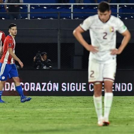 Diario Frontera, Frontera Digital,  CATAR, VINOTINTO, Deportes, ,Paraguay le asestó la séptima derrota  a la Vinotinto en las eliminatorias a Qatar