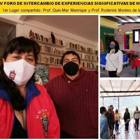 Diario Frontera, Frontera Digital,  UNEFA MÉRIDA, Regionales, ,UNEFA MÉRIDA GANÓ INTERCAMBIO  DE EXPERIENCIAS SIGNIFICATIVAS DE LA MISIÓN CULTURA