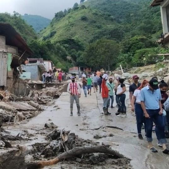 Diario Frontera, Frontera Digital,  TOVAR, Mocoties, ,Por aire llevarán alimentos a zonas de Mérida incomunicadas por daños en vialidad