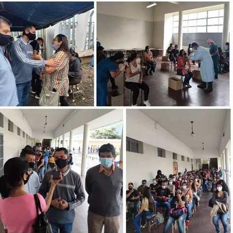 Diario Frontera, Frontera Digital,  vacunas, sector educativo, Salud, ,Más de quinientos trabajadores del sector educación  fueron vacunados en la segunda jornada especial