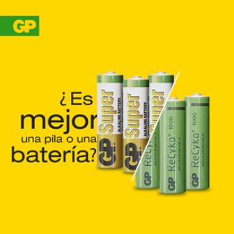 Diario Frontera, Frontera Digital,  GP, GP Batteries, Tecnología, ,BATERÍAS Y PILAS DE GP BATTERIES: Energías muy distintas pero ambas de máxima calidad