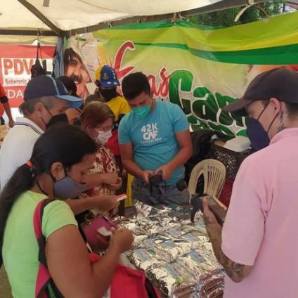 Diario Frontera, Frontera Digital,  Gran Feria del Campo Soberano, TOVAR, Mocoties, ,Estado Mayor de Alimentación a través la Gran Feria del Campo Soberano  benefició a 1327 familias Tovareñas