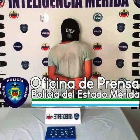 """Diario Frontera, Frontera Digital,  CAYÓ POR TRÁFICO DE DROGAS, Sucesos, ,POLICÍA CAPTURÓ A ALIAS """"EL CAMILLERO""""  POR MICROTRÁFICO DE SUSTANCIAS ESTUPEFACIENTES EN LIBERTADOR"""