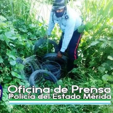 Diario Frontera, Frontera Digital,  RECUPERAN ALAMBRE GALVANIZADIO, Sucesos, ,RECUPERAN MIL CUATROCIENTOS METROS DE  ALAMBRE LISO GALVANIZADO Y 10 TENSORES EN LA PANAMERICANA