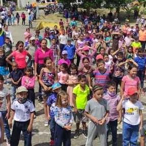 Diario Frontera, Frontera Digital,  Alegría Sobre Ruedas en La Azulita, Panamericana, ,Casi  500 niños disfrutaron de Alegría Sobre Ruedas en La Azulita