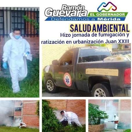 Diario Frontera, Frontera Digital,  SALUD AMBIENTAL, Salud, ,Salud Ambiental hizo jornada de fumigación y ratización en urbanización Juan XXIII