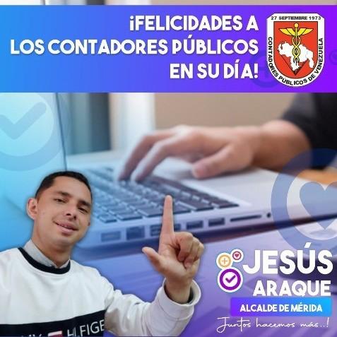 Diario Frontera, Frontera Digital,  JESÚS ARAQUE, Politica, ,Jesús Araque: Felicidades a los Contadores Públicos