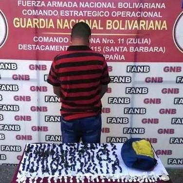 Diario Frontera, Frontera Digital,  GNB, Sucesos, ,GNB INCAUTÓ 235 ENVOLTORIOS  DE PRESUNTA COCAÍNA EN SAN CARLOS DEL ZULIA