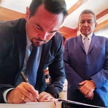 Diario Frontera, Frontera Digital,  Ramón Guevara recibió al embajador de Francia, Regionales, ,Gobernador Ramón Guevara recibió al embajador de Francia, Nadal Romain
